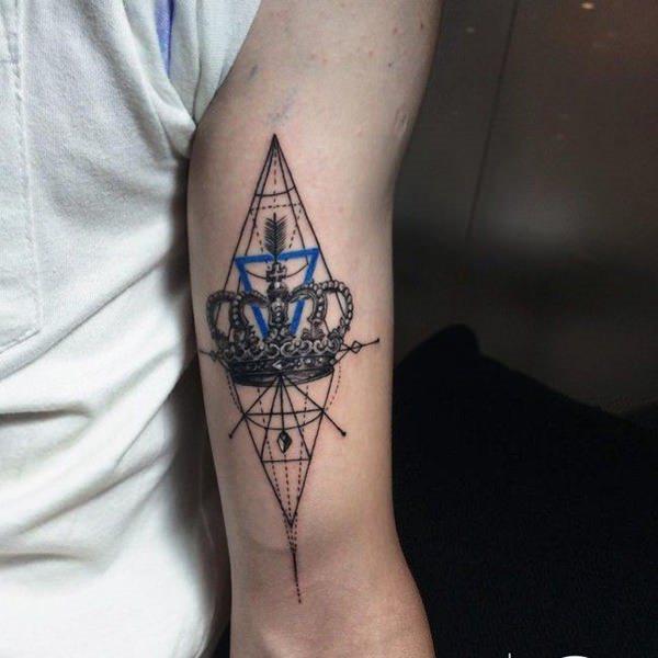 85 Tatuajes De Coronas Galería De Imágenes