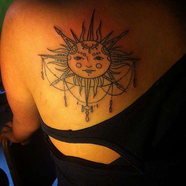 66 Tatuajes De Un Sol Como Protagonista