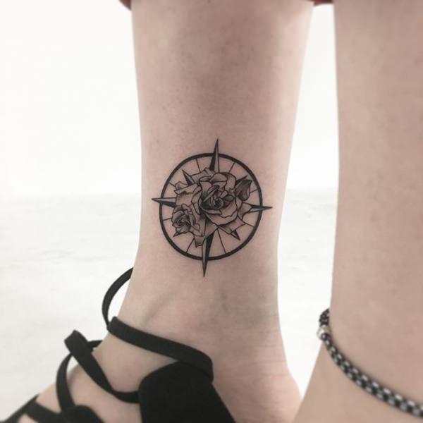 165 Tatuajes En Uno O En Los Dos Tobillos
