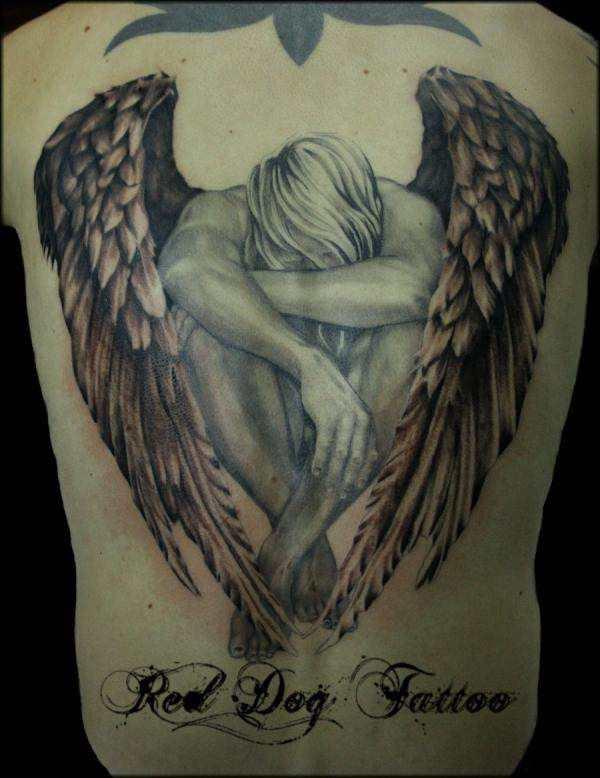 76 Tatuajes De ángeles Galería Con Diseños Magníficos