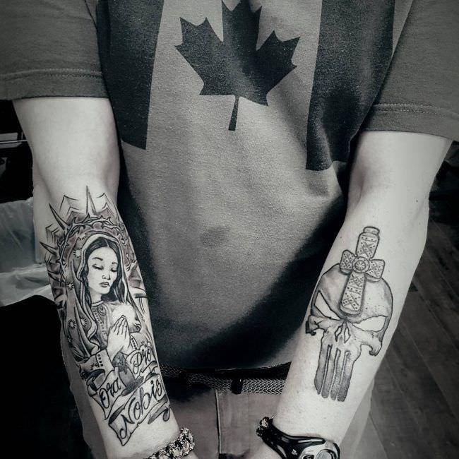 Tatuajes Detras Del Brazo antebrazo: 169 tatuajes para todos los gustos