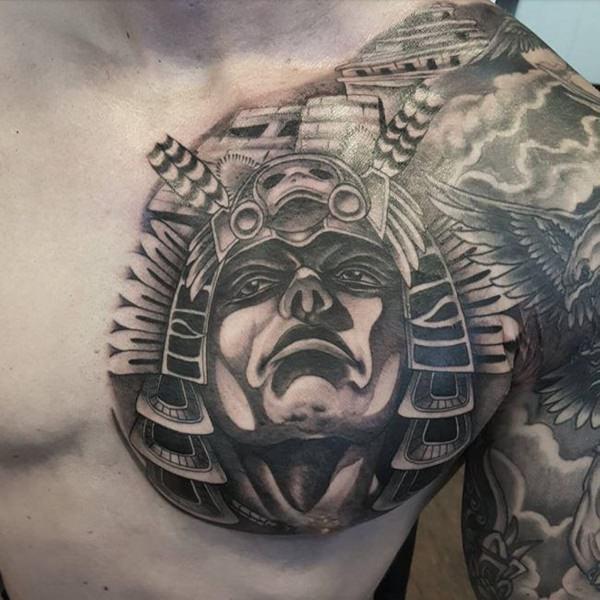 58 Modelos Y Tatuajes Aztecas Para Todos