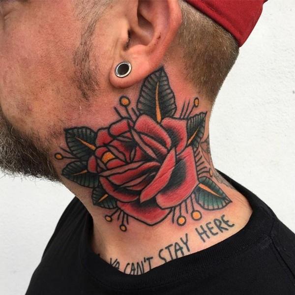 74 Tatuajes En La Nuca Y El Cuello Galería Inédita