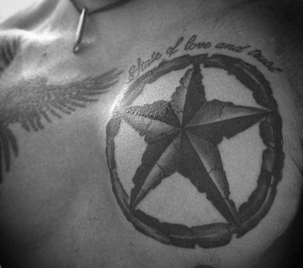 Tatuajes Con Estrellas De 5 6 7 8 Y 9 Puntas