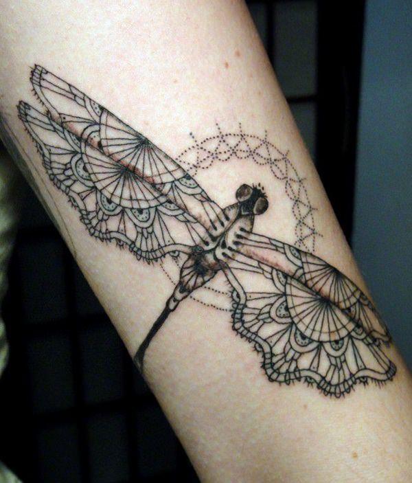 Tatuajes De Libélulas Y Su Significado 180 Diseños
