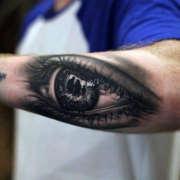 76 Tatuajes De Ojos Humanos Verdes Azules Marrones Y Negros