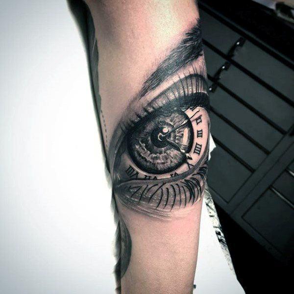 150 Tatuajes De Ojos Reales Horus De Gato Y Mas