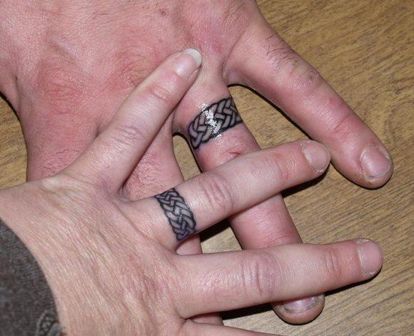 72 Tatuajes De Hoy Anillos Y Alianzas Para Parejas
