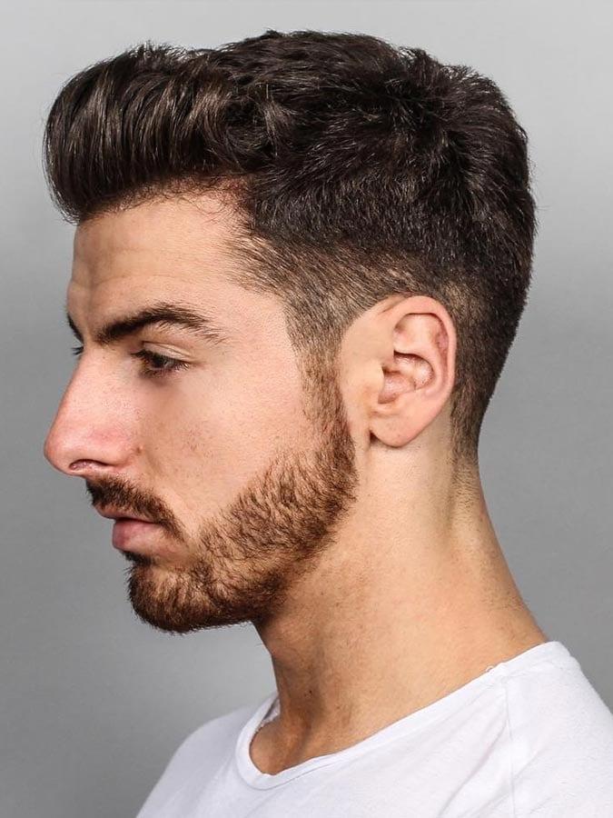 Completamente imperfecto peinados hombre degradado Galería de cortes de pelo Consejos - 130 Peinados degradados para hombre