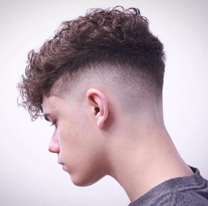 Imagen perfecta peinados hombre degradados Imagen De Consejos De Color De Pelo - Peinados hombres degradado - Peinados con trenzas