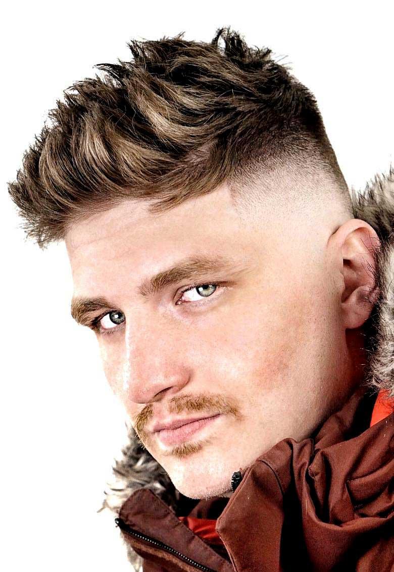 Bonito y sencillo peinados hombre degradado Colección De Cortes De Pelo Consejos - 130 Peinados degradados para hombre