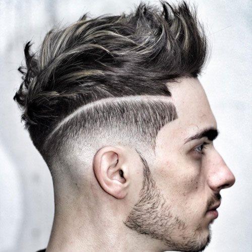 130 Peinados Degradados Para Hombre