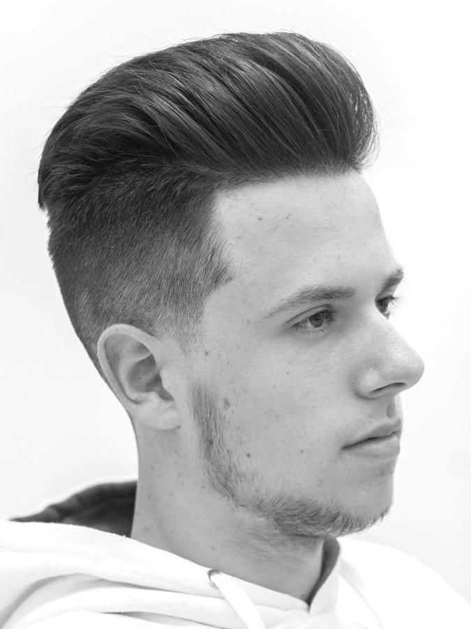 Espectacular peinados degradados hombre Fotos de tutoriales de color de pelo - 130 Peinados degradados para hombre