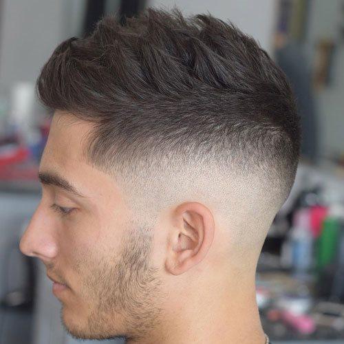 Atrevido y bonito peinados degradados Imagen de cortes de pelo estilo - 130 Peinados degradados para hombre