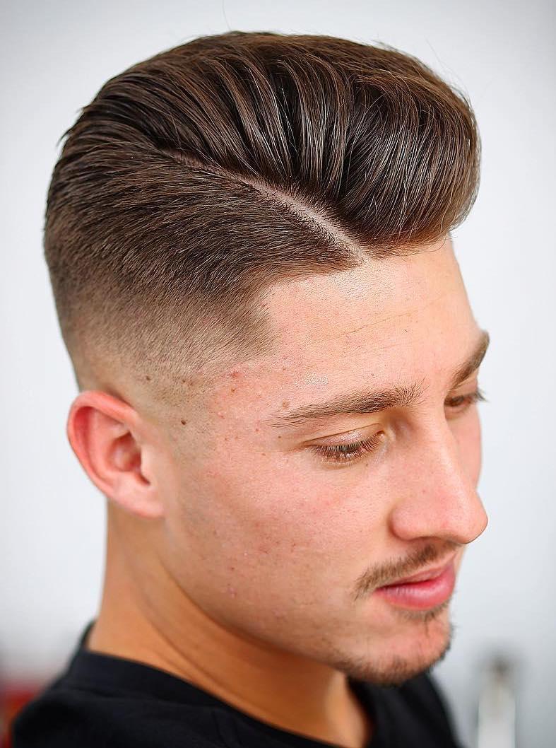 De moda peinados degradados hombre Galería de cortes de pelo tutoriales - 130 Peinados degradados para hombre
