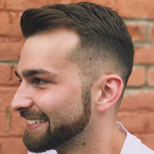 Sorprendentemente fácil peinados entradas Fotos de las tendencias de color de pelo - Cortes De Cabello Para Hombres Con Entradas Pronunciadas ...