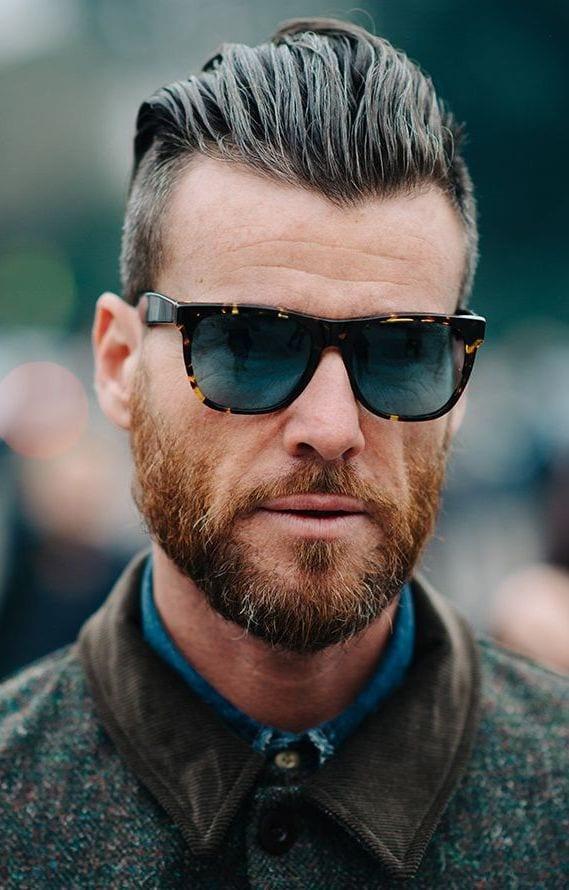 Especial peinados hombre con entradas Imagen de ideas de color de pelo - 90 Peinados para hombres con entradas