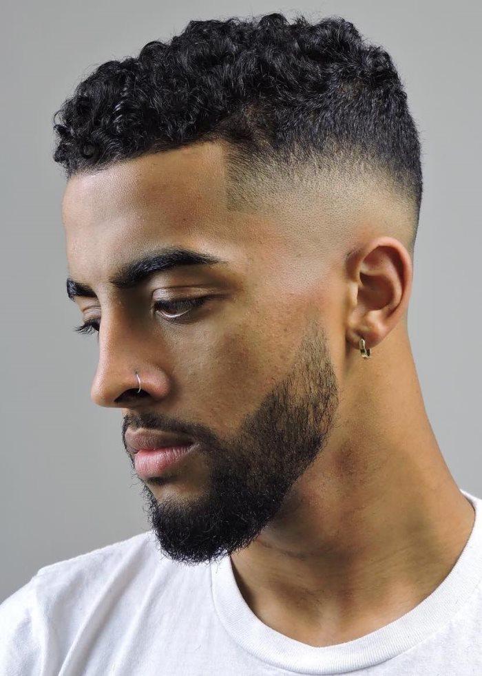 65 Peinados De Pelo Rizado Para Hombre