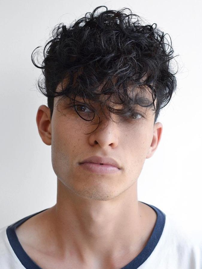 Imagen perfecta peinados hombre pelo rizado Colección De Cortes De Pelo Tendencias - 65 Peinados de pelo rizado para hombre