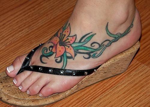 Tatuajes Pies Mujer 190 tatuajes maravillosos solo en el pie