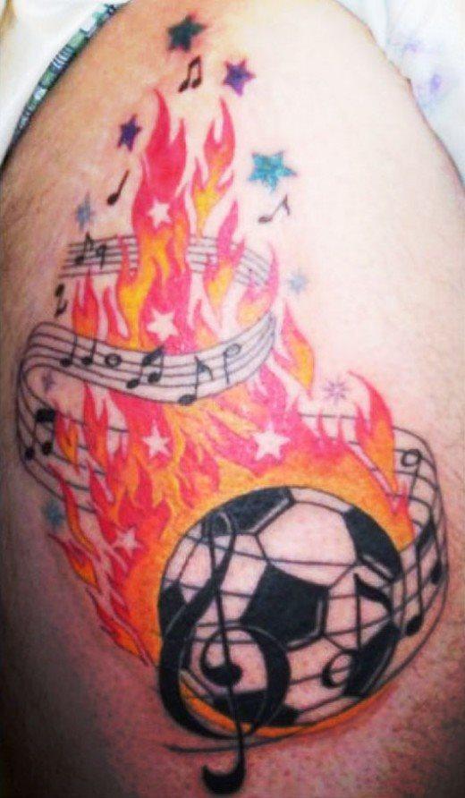 62 Tatuajes De Deportes Futbol Baloncesto Y Otros