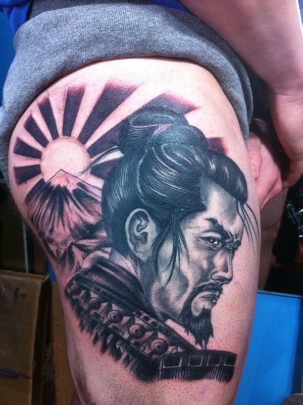 100 Tatuajes De Samuráis O Guerreros Galería De Imágenes