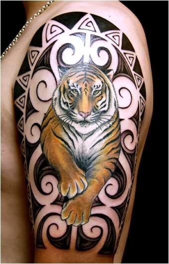 tatuaggi di tigri e giaguari disegni perfetti. Black Bedroom Furniture Sets. Home Design Ideas