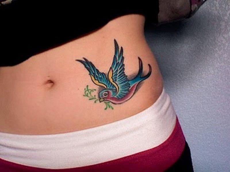 Très 90 Disegni di tatuaggi di rondini DR15