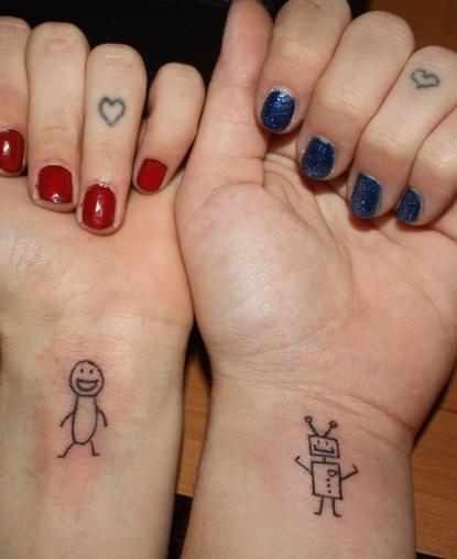 65 tatuaggi che simboleggiano l 39 amicizia e la lealt for Idee repas entre pote