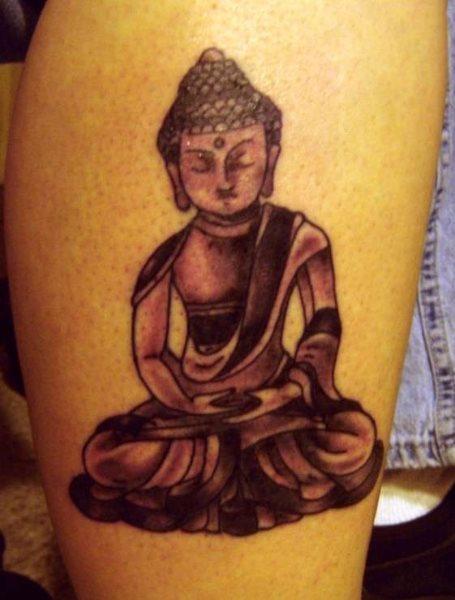D Buddha Tattoo Designs