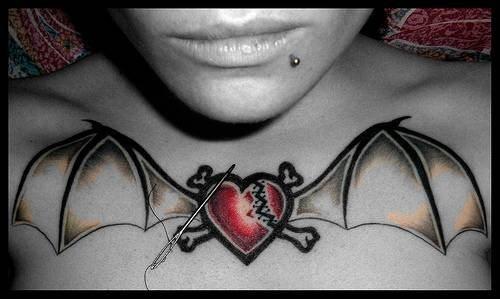 Idee per tatuaggi 86 disegni di cuori for Idee minuscole