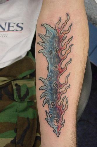 Fire Flames Tattoo 1105