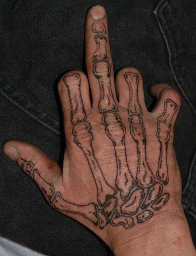 Tatuaggi sulla mano: 80 Disegni
