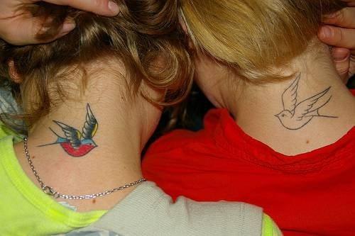 Tatuaggi da fare sulla nuca sul collo o dietro l orecchio