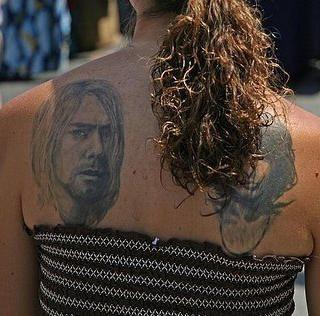 Upper Back Tattoo 1014