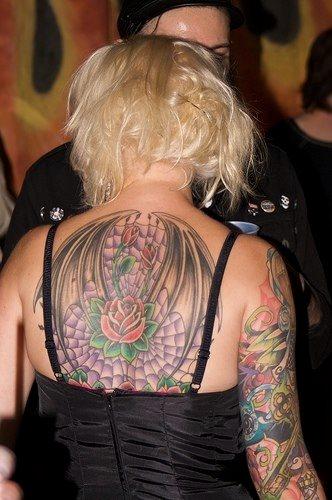 Upper Back Tattoo 1015
