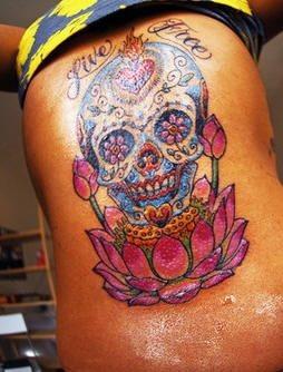 Upper Back Tattoo 1017