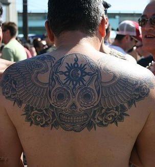 Upper Back Tattoo 1024