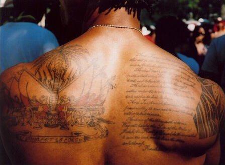 Upper Back Tattoo 1037
