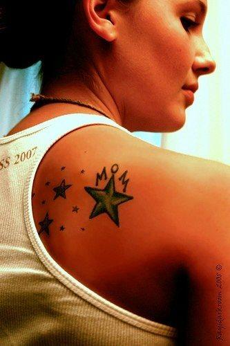 Upper Back Tattoo 1052