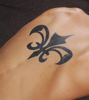 Upper Back Tattoo 1054