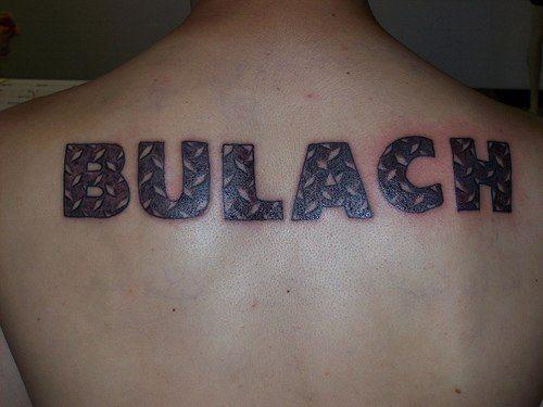 Upper Back Tattoo 1055