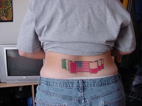 503 back tattoo