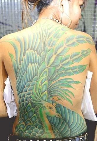 507 back tattoo