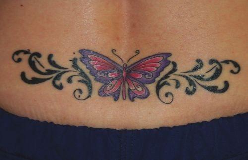 508 back tattoo
