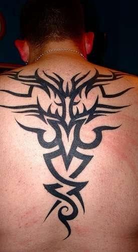 Back tattoo 513