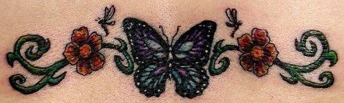 Back tattoo 527