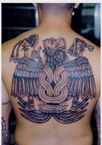 532 back tattoo
