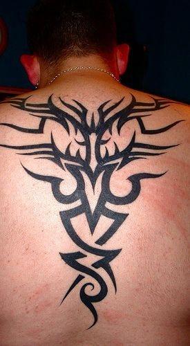 Back tattoo 533