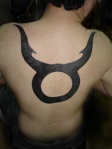 Back tattoo 538